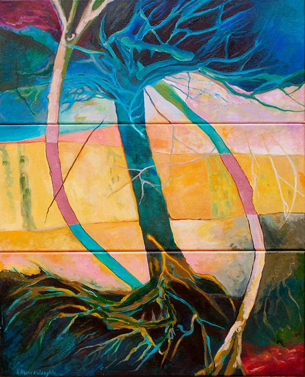 Roots Triptych