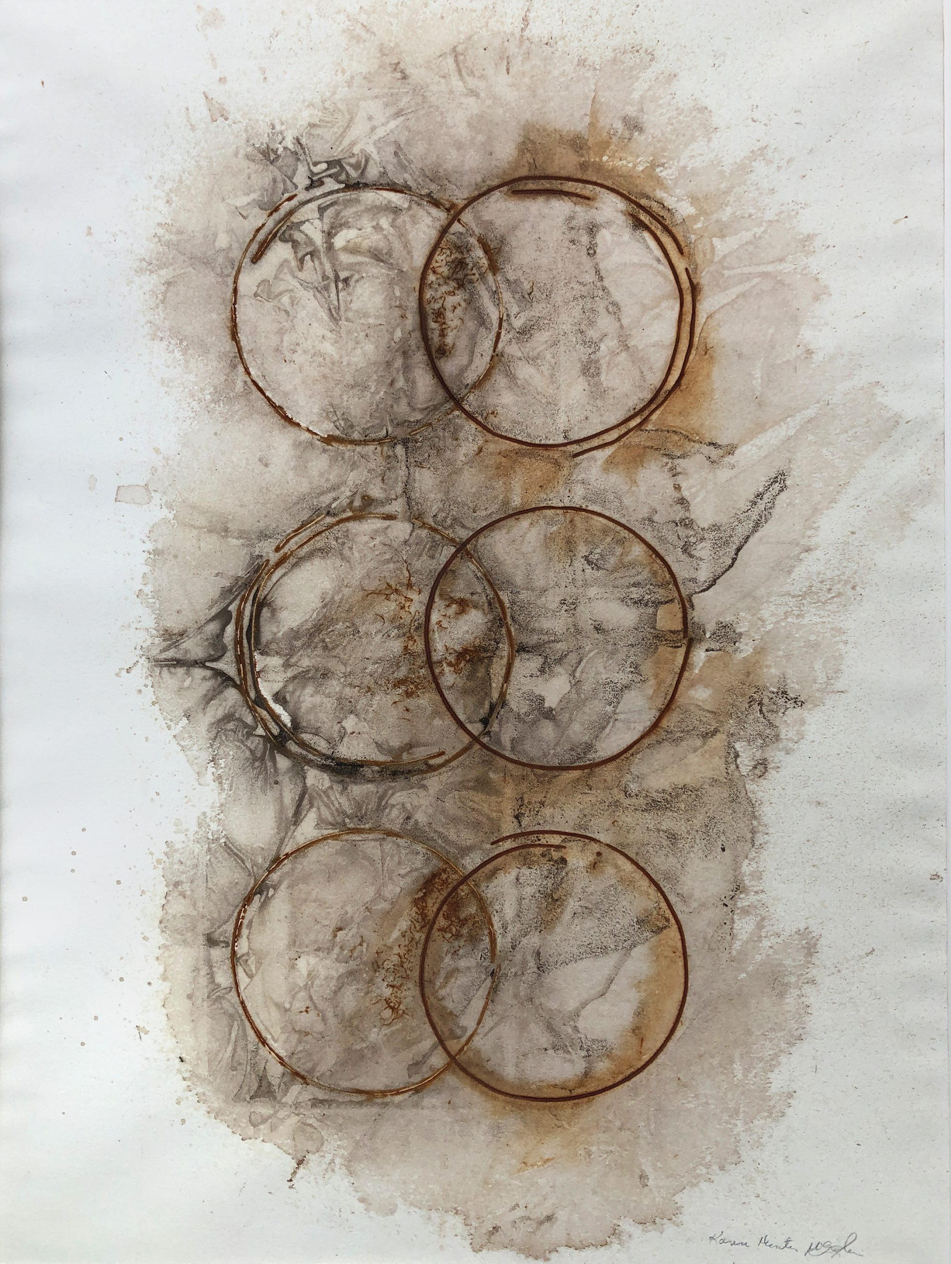 Connect/Disconnect, Rust Print, 18
