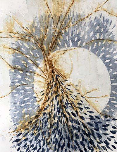 Karen Hunter McLaughlin, Bright Moon, Monotype
