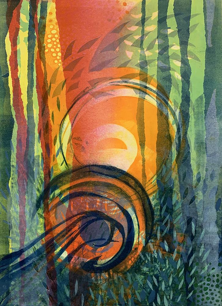 Karen Hunter McLaughlin, Dark Wave, Monotype